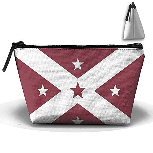 HTSS Florida Flag Portable Makeup Receive Bag Storage Large Capacity Bags Hand Travel Wash Bag