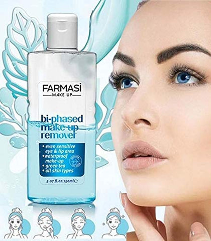 Farmasi Bi-Phased Make Up Remover, 150 ml./5.07 fl.oz.