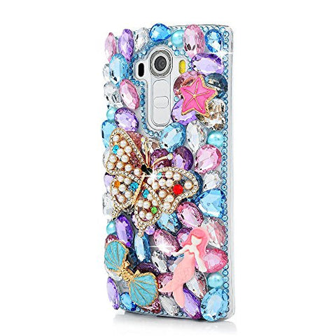 STENES Sparkly Butterfly Mermaid Case For Huawei Mate 10 Pro - Colorful