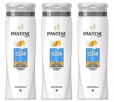 Pantene Pro V Classic Clean 2in1 Shampoo And Conditioner, 12.6 Ounce? By Pantene