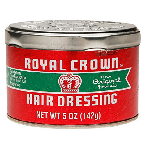 Royal Crown Hair Dressing 5 oz. Jar (Pack of 4)