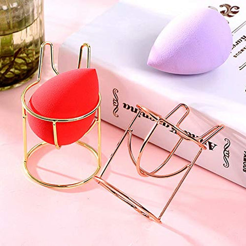 Zenvaa Makeup Sponge Drying Stand Storage Holder Beauty Puff Drying Rack Egg Powder Puff Display Stand Beauty Tool Dryer