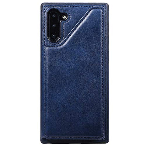 PU Leather Flip Case for Samsung Galaxy A50, Durable Soft Wallet Cover for Samsung Galaxy A50