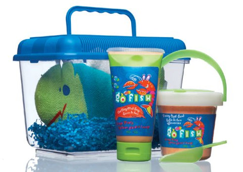 Upper Canada Soap & Candle Go Fish My First Aquarium Gift Set, Lobster Orange Frosty