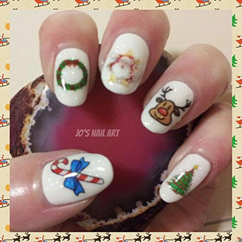Christmas Collection (Christmas Nail Art Decals C1)