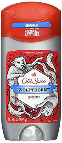 (2 Pack) Old Spice Wild Collection - Wolfthorn Scent - Men's Deodorant - 3 Oz