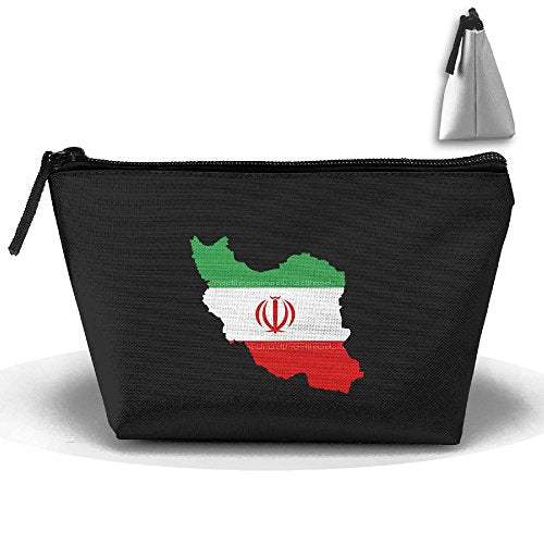 HTSS Iran Portable Makeup Receive Bag Storage Large Capacity Bags Hand Bag Travel Wash Bag For Travel With Hanging Zipper