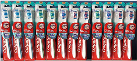 Colgate Toothbrush 360 Whole Mouth Clean Full Head Soft