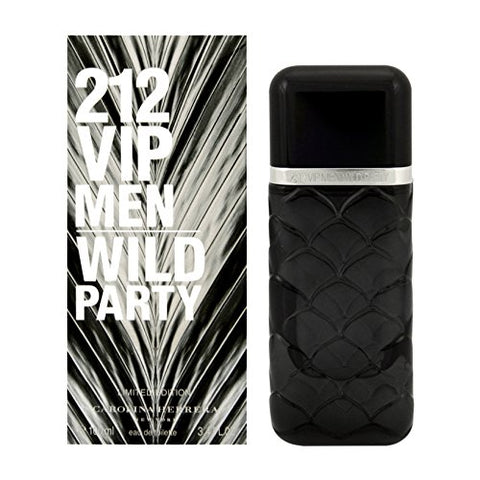 Carolina Herrera 212 VIP Men Wild Party 100ml/3.4oz Eau De Toilette EDT Spray