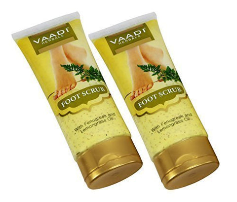 Foot Scrub Cream for Calloused and Dry Feet - Natural, Anti-fungal Callus Remover and Therapeutic Exfoliator - Fast Absorbing. Exfoliant Dead Foot Tissues & Rejuvenates the Rough & Damaged Foot Skin.