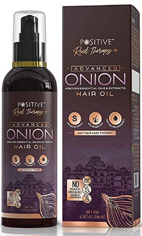 Positive Root Therapy plus Advanced Red Onion Oil For Hair Growth - 200ml