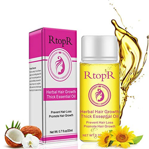 ETOSELL Hair Essential Oil Herbal Hair Growth Thick Essential Oil Anti-Hair Loss Promote Hair Growth Women And Men Safe Hair Tonic