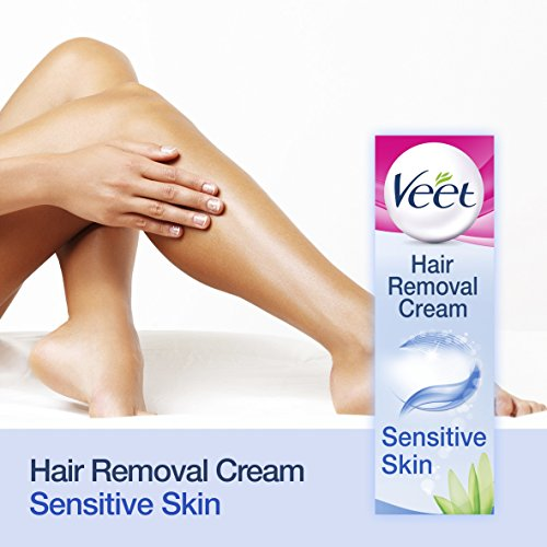 Veet Hair Removal Cream Sensitive Skin With Aloe Vera Vitamin E