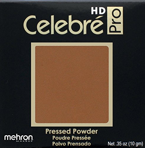 Mehron Makeup Celebre Pro Hd Pressed Powder Face & Body Makeup (.35 Oz) (Dark 4)
