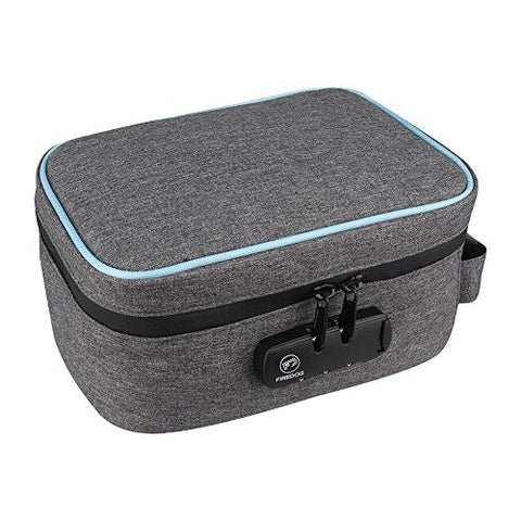 Earlyad Storage Box Container Waterproof and Deodorant Deodorant Storage Box with Combination Lock Suitable for Family Travel