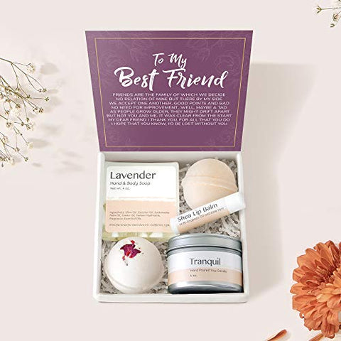 Best Friend Spa Gift Box: BFF Spa Gift Box, Best Friend Spa Gift Box, Long Distance, Quotes, Friends Forever