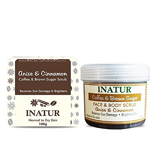 INATUR Coffee Brown Sugar Scrub 100 Grams