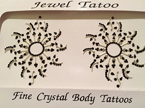 Definitions newest sunburst sparklers made with Swarovski stones and beads from Europe, a classic sold out T fantasy fest, remastered into Nipple crystal sparklers Black