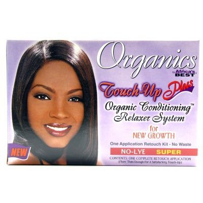 Africas Best Organincs Touch Up And Relaxer Super (Pack Of 2)