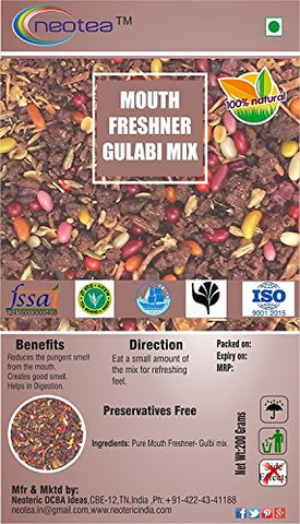 Neotea Mouth Freshener, Gulabi Mix, 200g