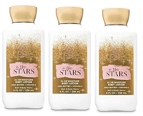 Bath and Body Works IN THE STARS Value Pack - Lot of 3 Body Lotions - Full Size