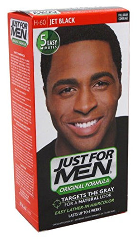 Just For Men Shampoo In #H-60 Haircolor Jet Black (6 Pack)