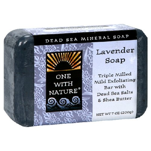 One With Nature Dead Sea Mineral Soap, Lavender, 7-Ounces (Pack of 5)