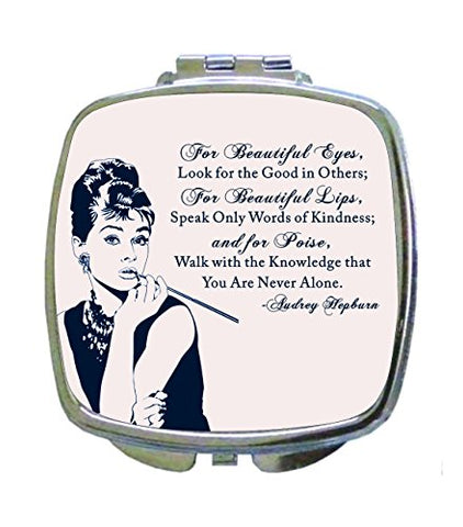 Audrey Hepburn - British Actress - Makeup Quote -