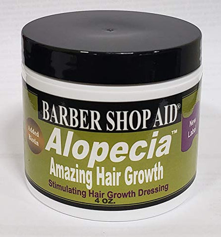 Barber Shop Aid Alopecia Amazing Hair Growth 4oz (2 Pack)