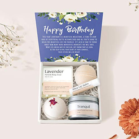 Birthday Spa Gift Box: Happy Birthday, Birthday Gift, Gift for Her, Best Friend Gift