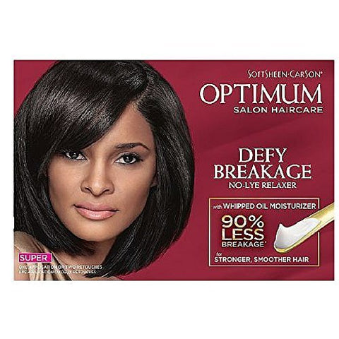 DDI Optimum Care Salon Collection No-Lye Relaxer-Super- Case of 6