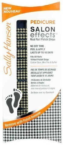 Sally Hansen Pedicure Salon Effects - # Puppy Tooth Houndstooth