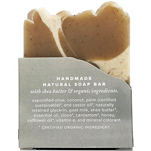 SPICED CHAI SOAP Natural Artisan Crafted with Organic and Natural Oils 4 oz