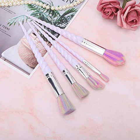 Makeup Brush Set Professional Ergonomic Handle Premium Fiber Cosmetics Brushes Kit soft(5??????)