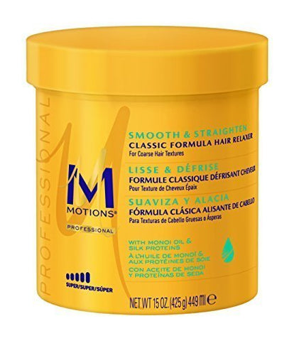Motions Smooth & Straighten Hair Relaxer, Super 15 ounce by Motions