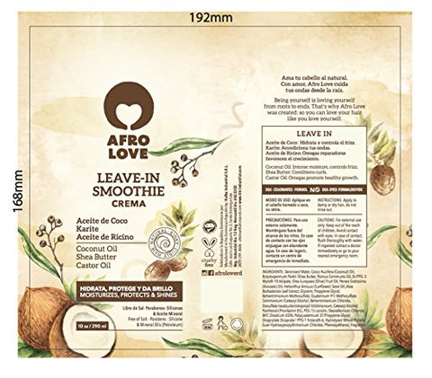 Afro Love (Leave In Smoothie 10oz)