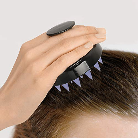 FARMSKIN Premium Hair Scalp Massager with Soft Silicone Head Massager Shampoo Scalp Care Brush
