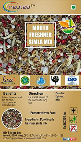 Neotea Mouth Freshener, Shimla Mix - 200g
