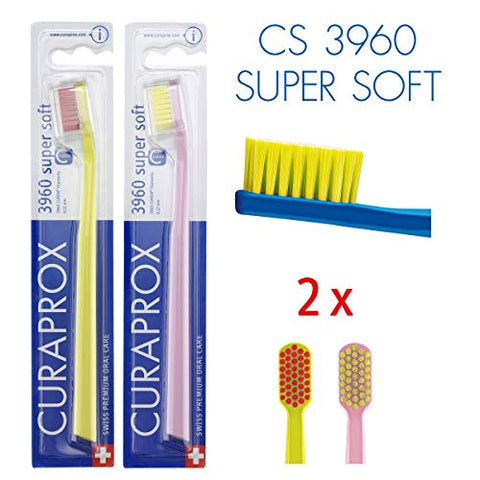 Curaprox Cs 3960 Toothbrush Super Soft Pack Of 2
