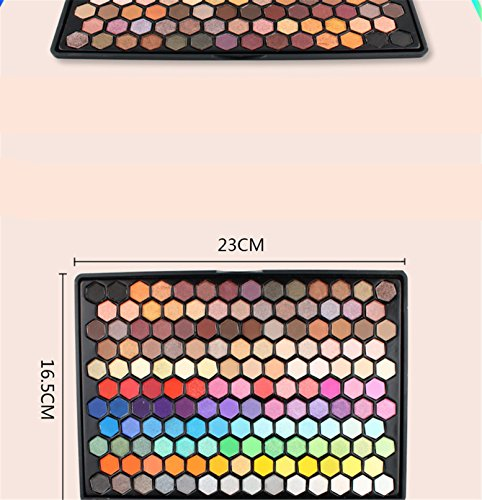 FantasyDay Pro 149 Colors Shimmer and Matte Waterproof Eyeshadow Makeup Palette Cosmetic Contouring Kit - Ideal for Professional and Daily Use