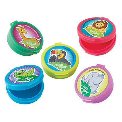 Jungle Friends Tooth Holders - Dental Hygiene Products - 36 per Pack