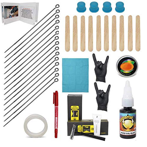 Hand Poke And Stick Tattoo Kit   Clean & Safe Stick & Poke Tattoos   Diy Tattoo Kit (Hand Poke Tatto