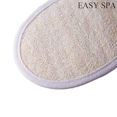 EASY SPA Natural Loofah Sponge Pad 5