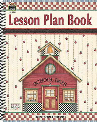 Lesson Plan Book for Mum