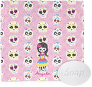 Image of Kids Sugar Skulls Wash Cloth (Personalized)