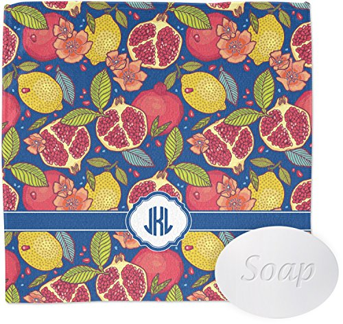 Pomegranates & Lemons Wash Cloth (Personalized)
