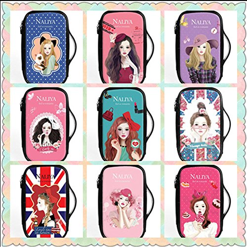 Fashion Waterproof Travel Makeup Case Cosmetic Bag Sundry/Toiletry, Candy Girl