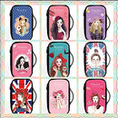 Image of Fashion Waterproof Travel Makeup Case Cosmetic Bag Sundry/Toiletry, Candy Girl