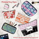 "Image of Preppy Makeup Bag - Large - 12.5""x7"" (Personalized)"