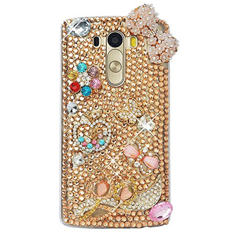 STENES Sparkly Flowers Bowknot Butterfly Case For Huawei Mate 10 Pro - Champion
